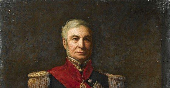 Admiral Sir Alexander Milne 1806-96 NMM: BHC2863