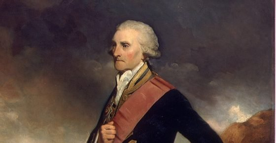 Admiral Lord George Brydges Rodney (1719-1792), 1st Baron Rodney NMM: BHC2971
