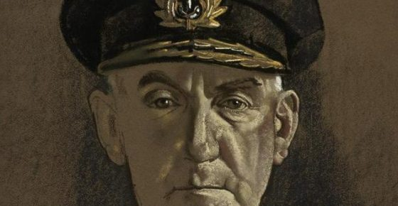 Admiral Sir Dudley Pound GCB GCVO IWM: Art.IWM-ART-LD-16